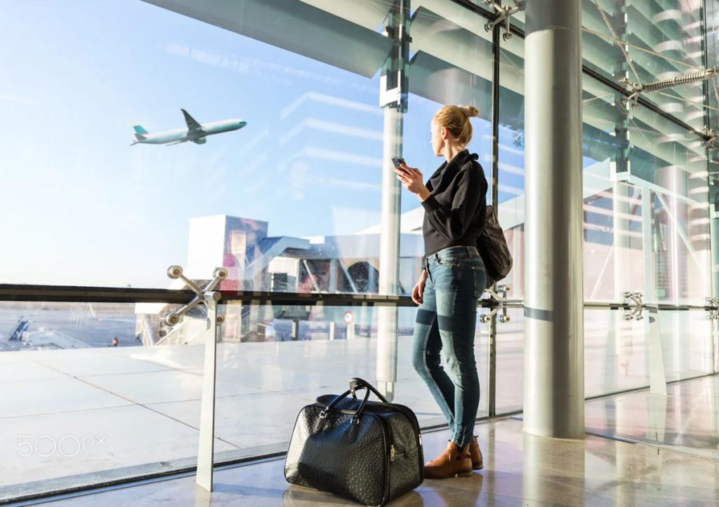 viajes de negocios y personas
