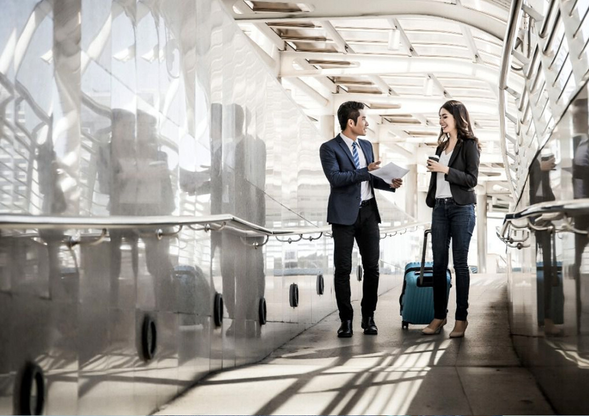 gestión viajes de negocios
