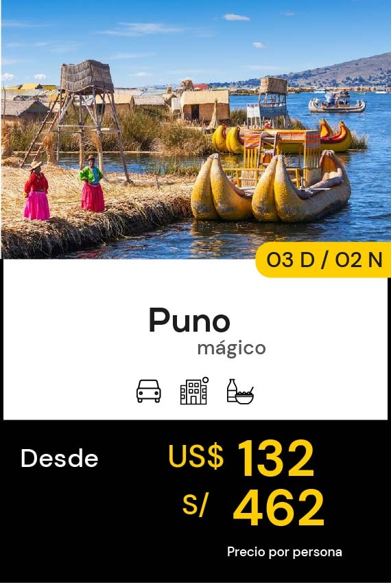 PUNO MÁGICO DOMIRUTH TRAVEL SALE
