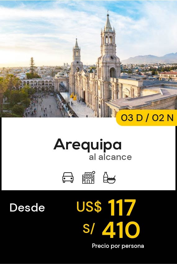 AREQUIPA DOMIRUTH TRAVEL SALE