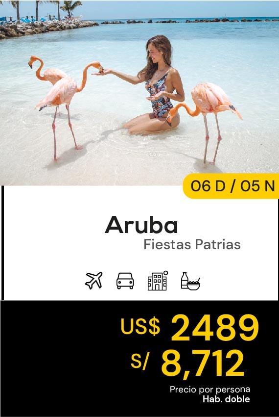 ARUBA FIESTAS PATRIAS DOMIRUTH TRAVEL SALE