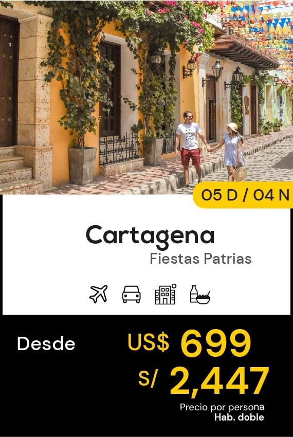 CARTAGENA FIESTAS PATRIAS DOMIRUTH TRAVEL SALE