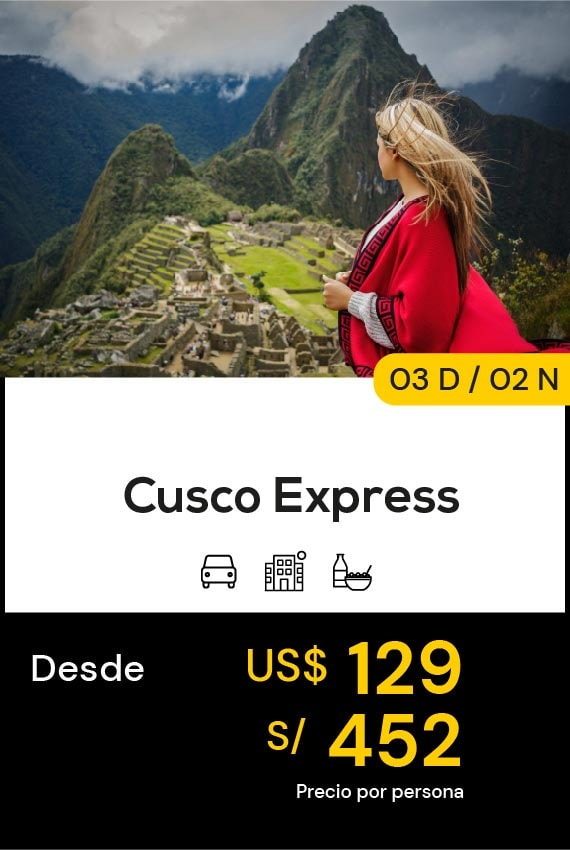 CUSCO EXPRESS DOMIRUTH TRAVEL SALE