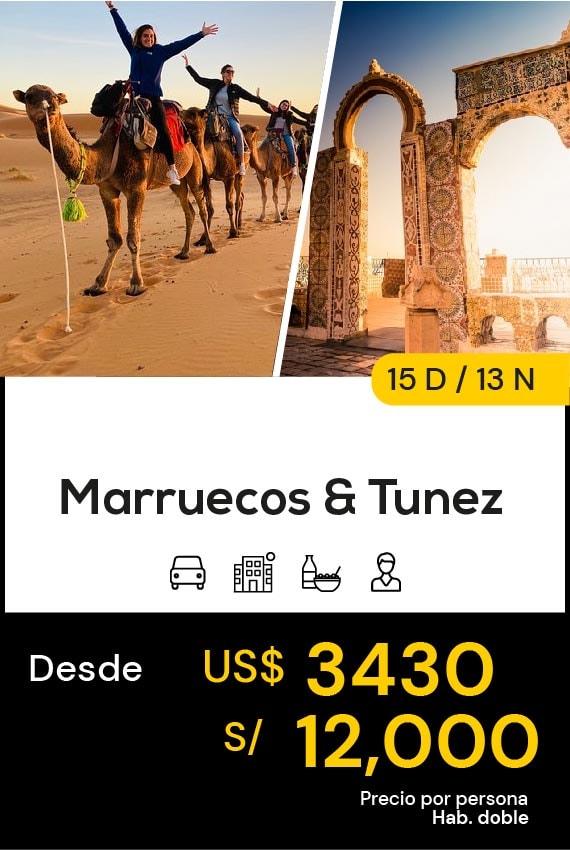 MARRUECOS & TUNEZ TRAVEL SALE