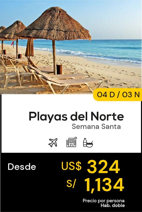 PALYAS DEL NORTE DOMIRUTH TRAVEL SALE