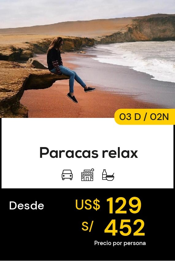 PARACA RELAX DOMIRUTH TRAVEL SALE