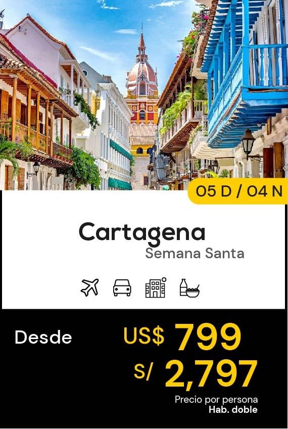 CARTAGENA DOMIRUTH TRAVEL SALE