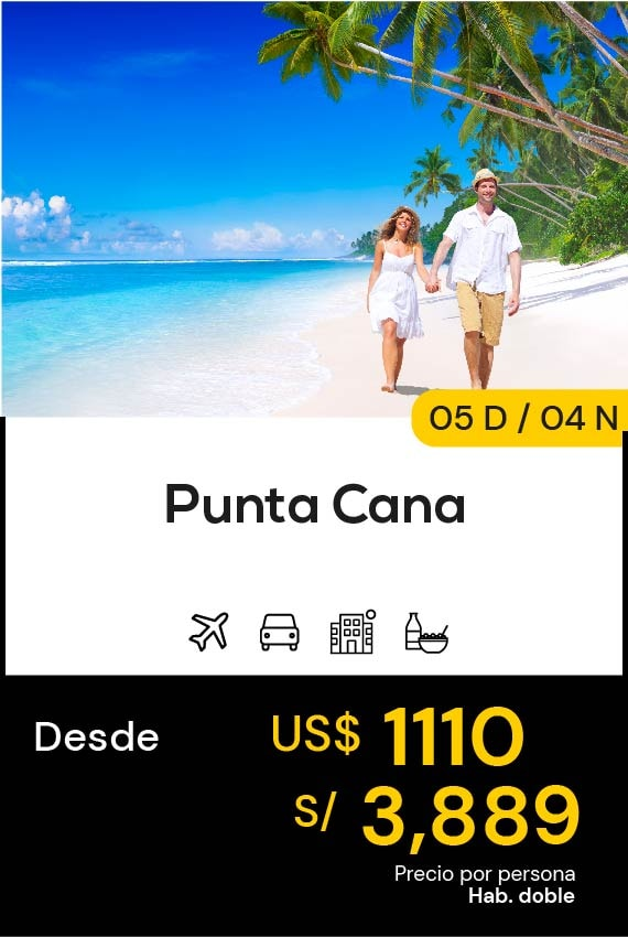 PUNTA CANA DOMIRUTH TRAVEL SALE