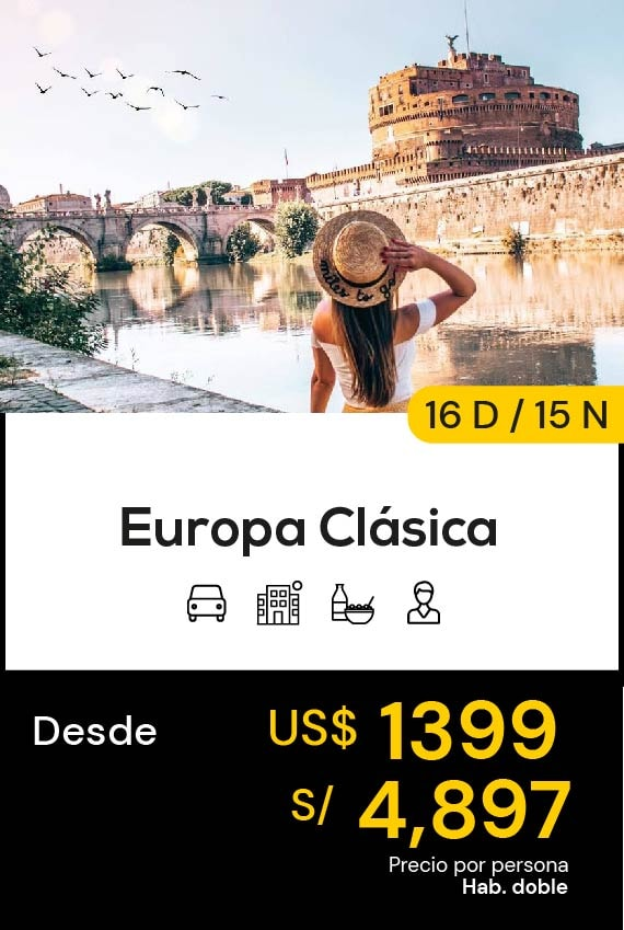 EUROPA CLASICA DOMIRUTH TRAVEL SALE